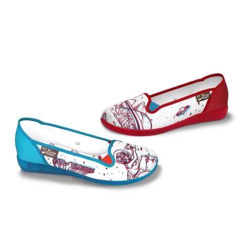 Chocolaticas® 3D Women's Slip-On