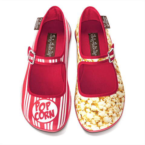 Chocolaticas® Popcorn Women's Mary Jane Flat