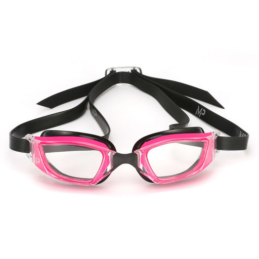 Michael Phelps XCEED Lady Clear Lens Goggles. Pink/Black,Aqua Sphere,Treshers