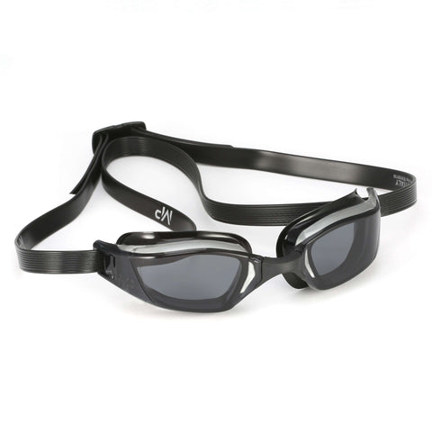 Michael Phelps XCEED Smoke Lens Goggles, Grey/Black,Aqua Sphere,Treshers