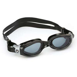 Treshers:Aqua Sphere Kaiman Small Fit Goggles, Smoke Lens,Black