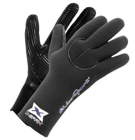 Treshers:Neosport 5mm XSPAN Gloves,Black / X-Large
