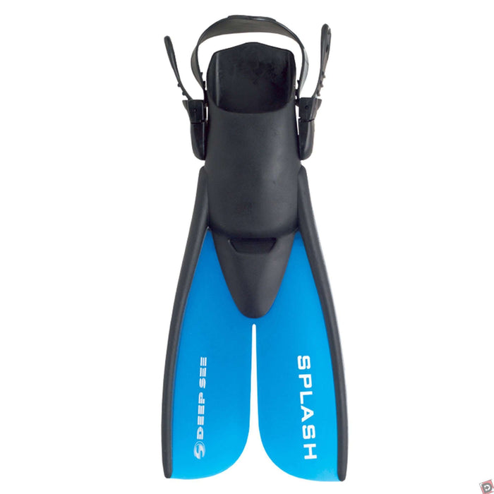 Treshers:Deep See Kids Splash Split Fins,1-4 / Blue