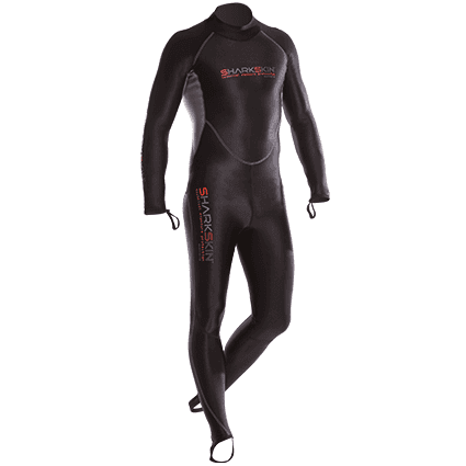 SHARKSKIN CHILLPROOF REAR ZIP SUIT - MENS,Sharkskin,Treshers