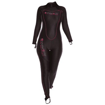 SHARKSKIN CHILLPROOF REAR ZIP SUIT - WOMENS,Sharkskin,Treshers