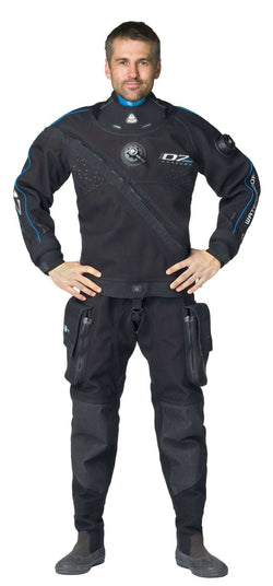 DRYSUIT WATERPROOF D7 PRO CORDURA ISS, MALE,Waterproof,Treshers