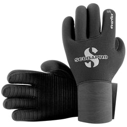 ScubaPro Everflex 5 mm Glove Black,Scubapro,Treshers