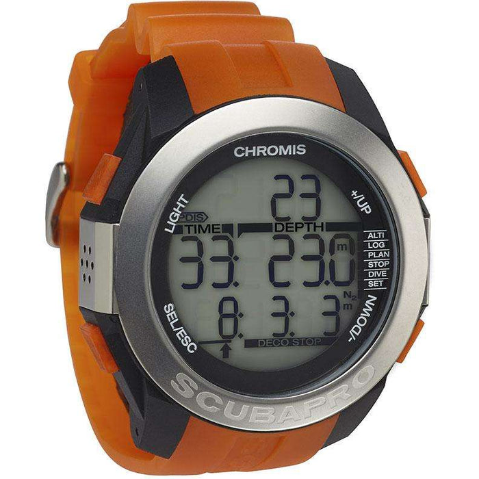 Treshers:ScubaPro Chromis Wrist Computer,Orange/Black