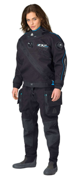 DRYSUIT WATERPROOF D7 PRO CORDURA ISS, FEMALE,Waterproof,Treshers