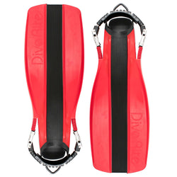 Treshers:Dive Rite XT FINS,Small / Red