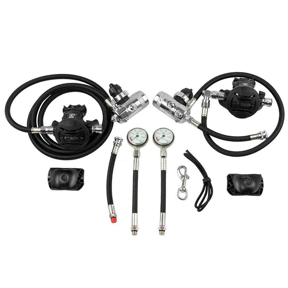 Apeks Sidemount Regulator Kit,Apeks,Treshers