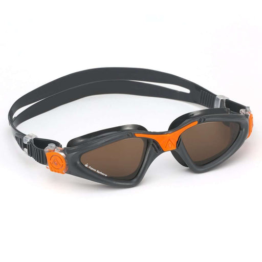 Aqua Sphere Kayenne Polarized Lens Swim Goggles, 188920, Grey/Orange,Aqua Sphere,Treshers