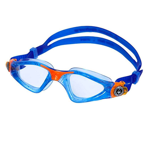 Treshers:Aqua Sphere Kayenne Junior Goggles, Clear Lens,Blue/Orange