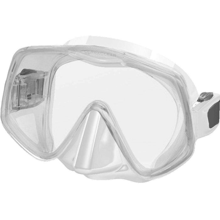 Treshers:Atomic Frameless 2 Mask, Large Fit,Clear