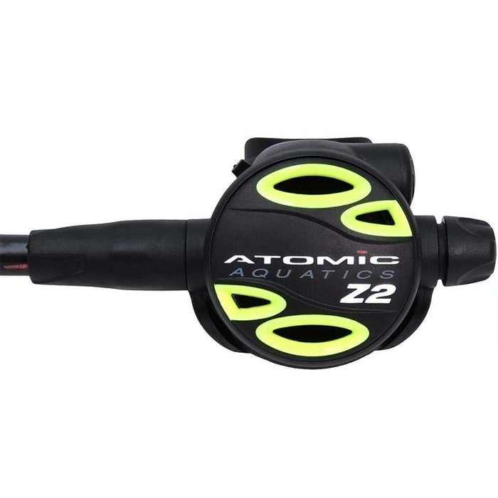 "Atomic Z2 Octopus, 36"" hose, Yellow,Atomic Aquatics,Treshers"