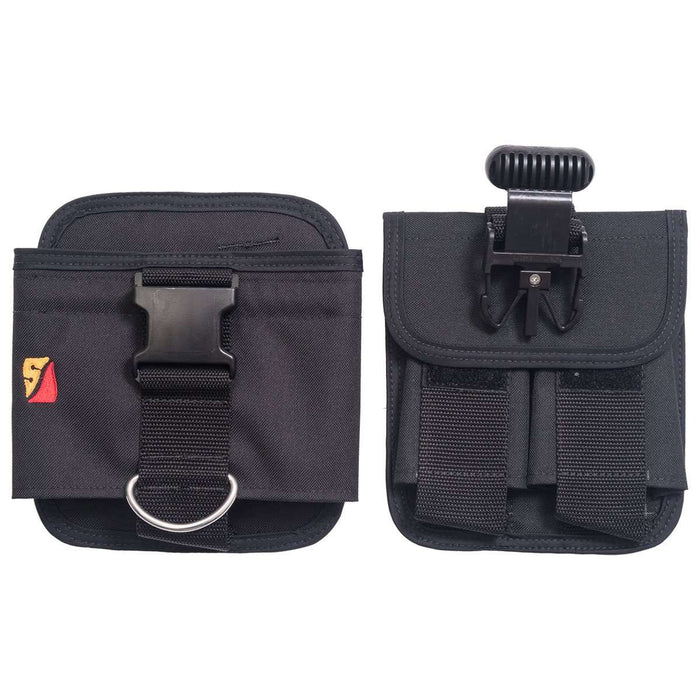 Treshers:Dive Rite Quick Buckle (QB) Weight Pocket,32 LB