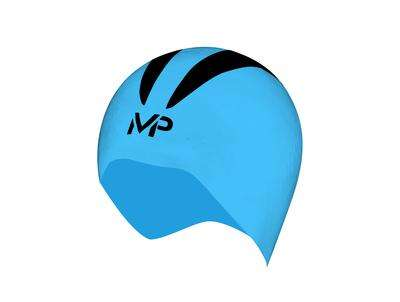 Treshers:Michael Phelps X-0 Swim Cap,M / Blue/Black