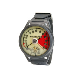 ScubaPro Analog Depth Gauge Wrist, with Armstrap, Metric,Scubapro,Treshers