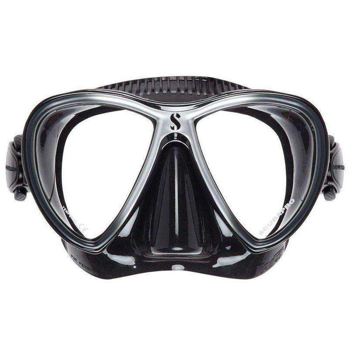 Treshers:Scubapro Synergy Twin Mask,Black/Silver