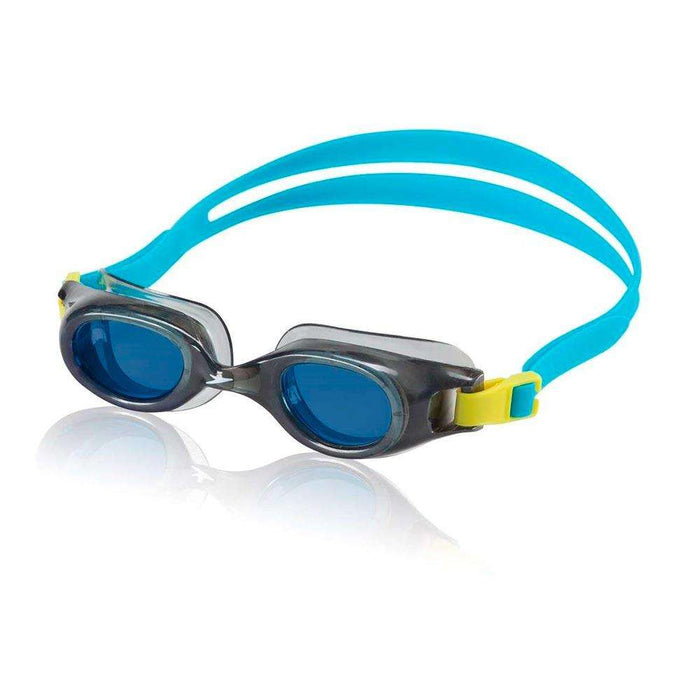 Treshers:Speedo Junior Hydrospex Classic Goggle,Grey/Blue