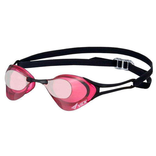 Treshers:View Blade Zero Racing Goggle, Mirrored,Mauve/Silver