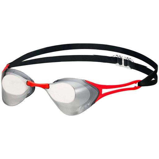 Treshers:View Blade Zero Racing Goggle, Mirrored,Smoke/Dark Silver