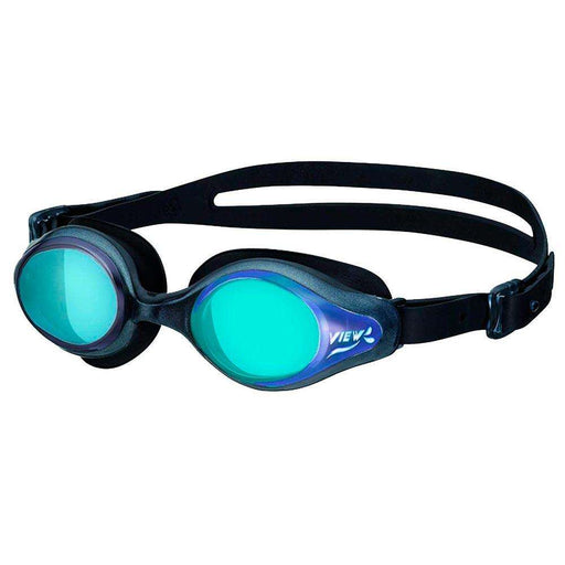 Treshers:View Selene Women's Goggle, Mirrored,Pearl Black/Blue