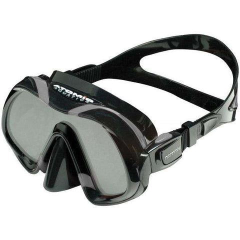 Treshers:Atomic Aquatics Venom Mask,Black/Gray
