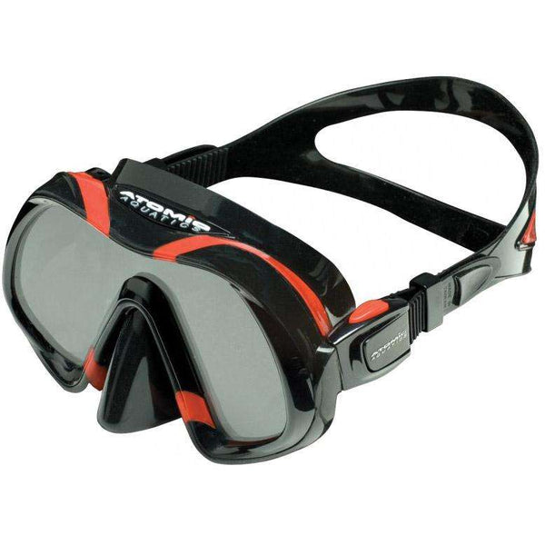Treshers:Atomic Aquatics Venom Mask,Black/Red