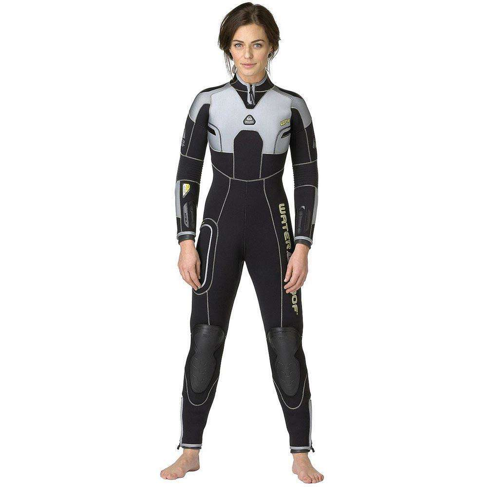 Waterproof Womens W4 7mm Backzip Wetsuit, Size ML/T (Medium Large Tall),Waterproof,Treshers
