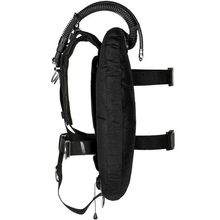 xDeep ZEOS Comfort 38 lbs Single Tank Scuba Diving BCD With Steel Backplate,xDeep,Treshers