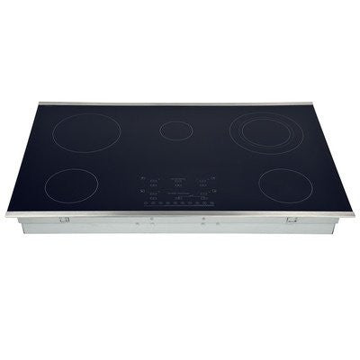 "36.31"" Electric Cooktop with 5 Burners"