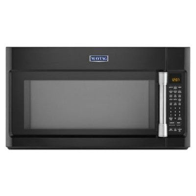 1.9 Cu. Ft. 1600 Watts Over-the-Range Microwave with EvenAir Convection Finish: Black