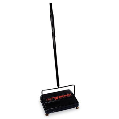 "Franklin Cleaning Technology 46"" Workhorse Carpet Sweeper, Black"