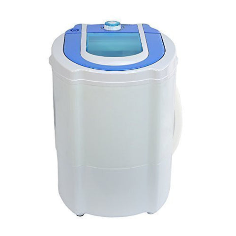 XtremepowerUS Mini Portable Washer 6 Pounds Max Capacity Compact Portable Washing Machine