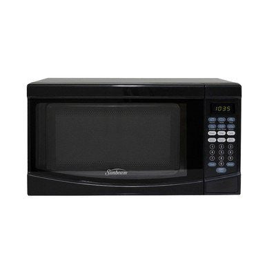 0.7 Cu. Ft.700W Countertop Microwave Finish: Black