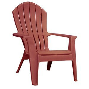 Adams Mfg 8371-95-3900 Merlot Adirondack Chair Resin, Patio Chairs