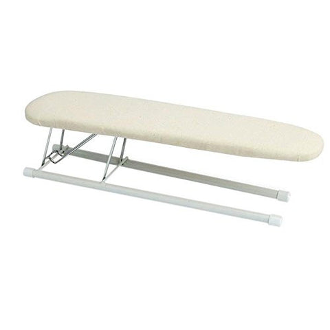 New Household Essentials Tabletop Sleeve Ironing Board with Steel Top,