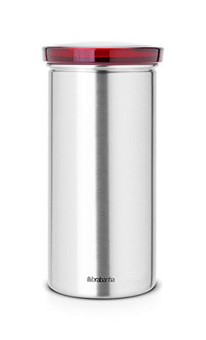 Senseo Brabantia Canisters, Red Lid