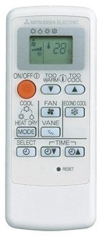Mitsubishi Electric E12N38426 Replacement Remote Controller (MP14A)