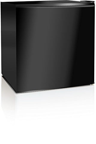 Midea WHS-52FB1 Compact Single Reversible Door Upright Freezer, 1.1 Cubic Feet, Black