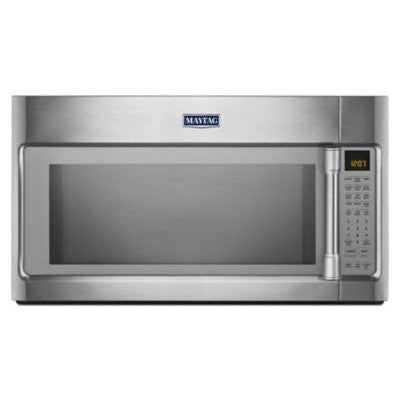 1.9 Cu. Ft. 1600 Watts Over-the-Range Microwave with EvenAir Convection Finish: Stainless Steel