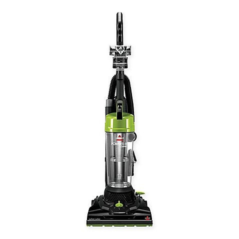 BISSELL PowerTrak Compact Upright Vacuum Cleaner in Black/Lime