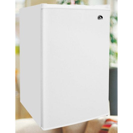 Igloo 3.0 cu ft Upright Freezer, White, All-white door and cabinet Manual defrost Wire shelves