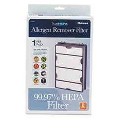 ** Replacement Modular HEPA Filter for Air Purifiers, 10 x 6 1/2 x 2 **