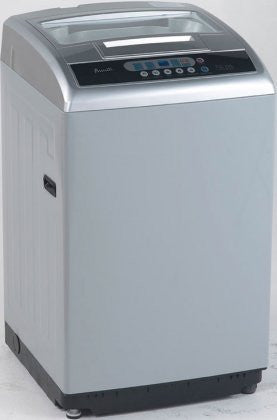"Avanti TLW21D2P 22"" Top Load Portable Compact Washer with 2.1 cu. ft. Capacity 6 Cycles 4 Load Selection 800 RPM Stainless Steel Tub and Auto-Power Off in"