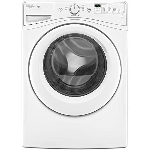 WHIRLPOOL WASHERS & DRYERS 2490340 Duet 4.2 cu.ft. High Efficiency Front Load Washing Machine, White, 8 Wash Cycles
