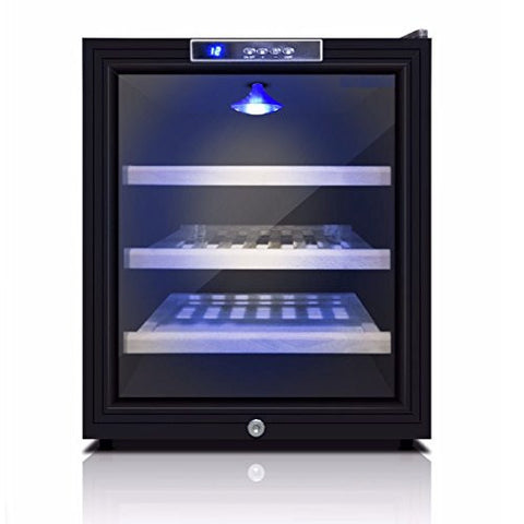 Refrigerator parts accessories tagged small wine cellars game room mini wine refrigerator bar fridge kingsbottle 11 bottle storage free standing compatible fandeluxe Choice Image