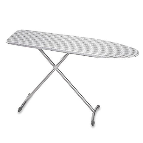 Real Simple WIDE SURFACE Ironing Board with BONUS Folding Board INCLUDED - STABLE with THICK COTTON Cover - The Best Ironing Table Plank Board for a Crisp Free Shirt Blanket Dress Clothes!
