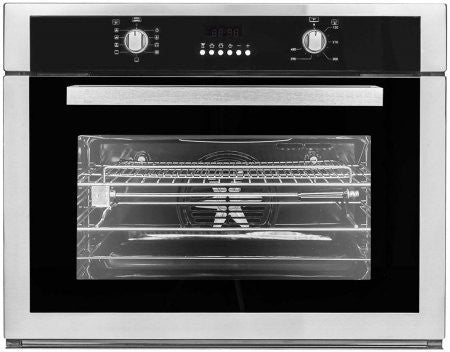 Cosmo COV-309DB 30 in. Single Wall Electric Convection Oven with 9 Functions and Rotisserie in Stainless Steel